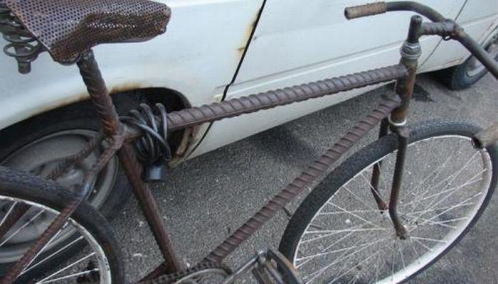 Челябинский велосипед настолько суров...