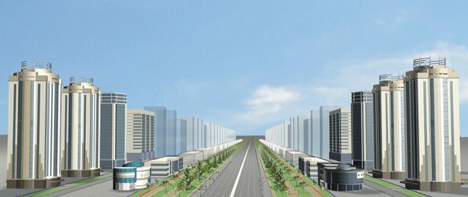 Строительство Красного проспекта в Новосибирске