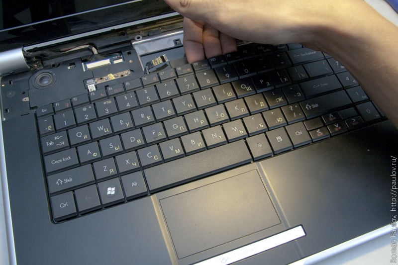 Установка Windows 7 на ноутбук Packard Bell - MINTERESE 632
