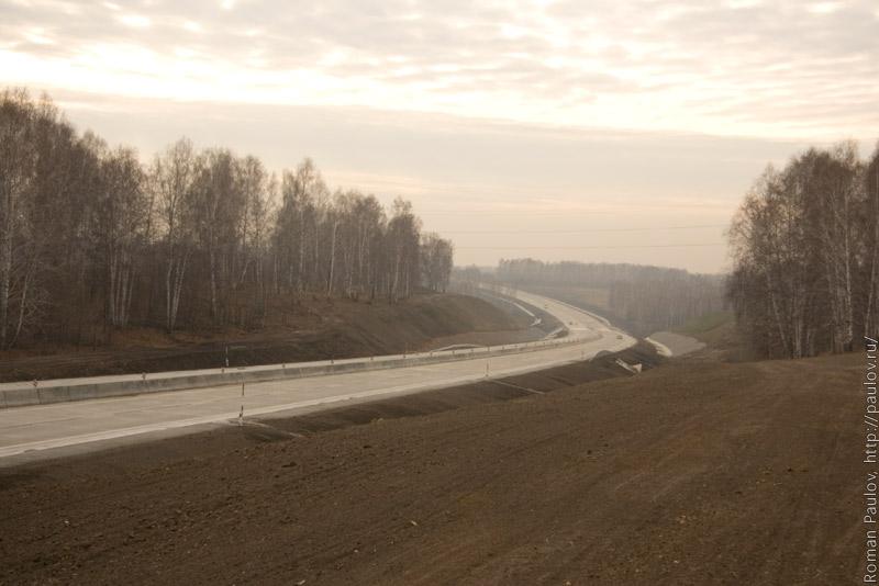 Северный обход Новосибирска в сторону Города