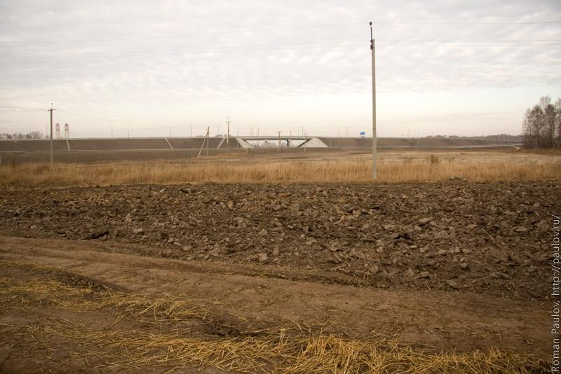 Северный обход Новосибирска развязка Локти Мочище