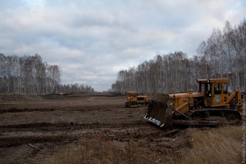 Строительство северного обхода Новосибирска от Мочища до Сокура
