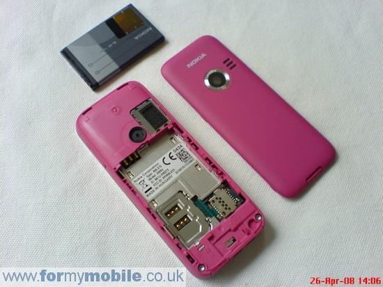 Как разобрать телефон Nokia 3500 classic (2)
