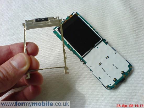 Как разобрать телефон Nokia 3500 classic (6)