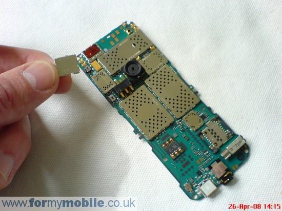 Как разобрать телефон Nokia 3500 classic (8)