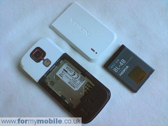 Как разобрать телефон Nokia 5000 (2)
