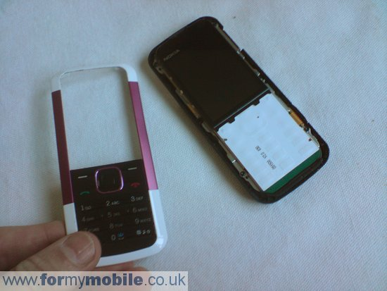 Как разобрать телефон Nokia 5000 (4)