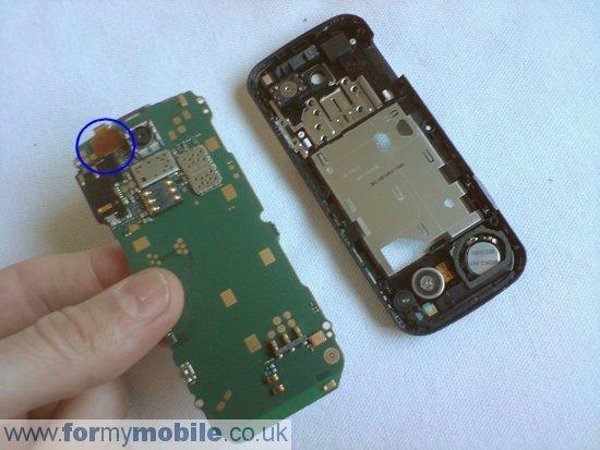 Как разобрать телефон Nokia 5000 (6)
