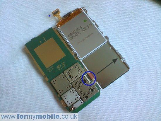 Как разобрать телефон Nokia 5000 (8)