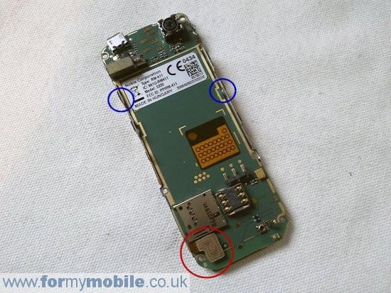 Как разобрать телефон Nokia 5220 Xpress Music (6)