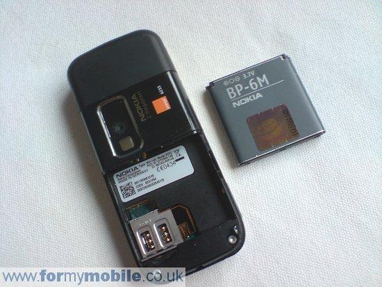 Как разобрать телефон Nokia 6233