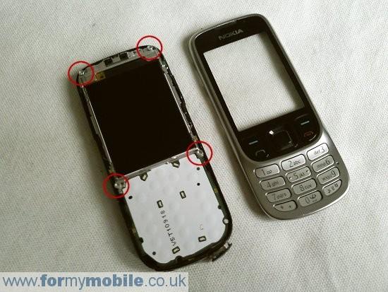 Как разобрать телефон Nokia 6303 classic