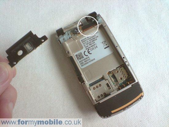 Как разобрать телефон Nokia 6600 Fold (3)