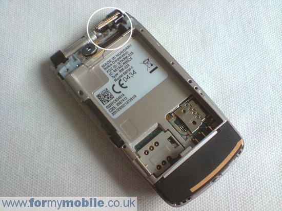 Как разобрать телефон Nokia 6600 Fold (4)