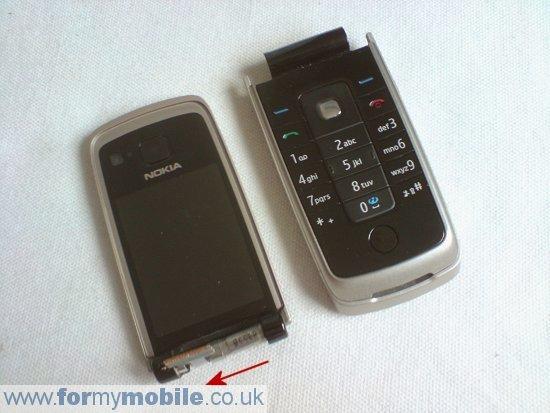 Как разобрать телефон Nokia 6600 Fold (7)