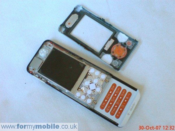 Sony ericsson t303 disassembly