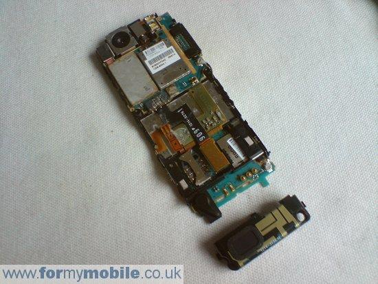 Как разобрать телефон Sony Ericsson C510