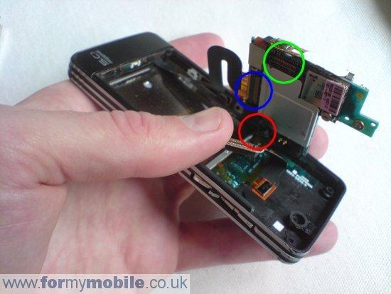 Как разобрать телефон Sony Ericsson C902