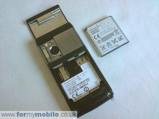 Как разобрать телефон Sony Ericsson C905