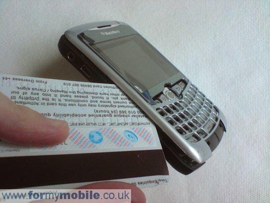 Как разобрать телефон Как разобрать телефон BlackBerry Curve 8310 (7)