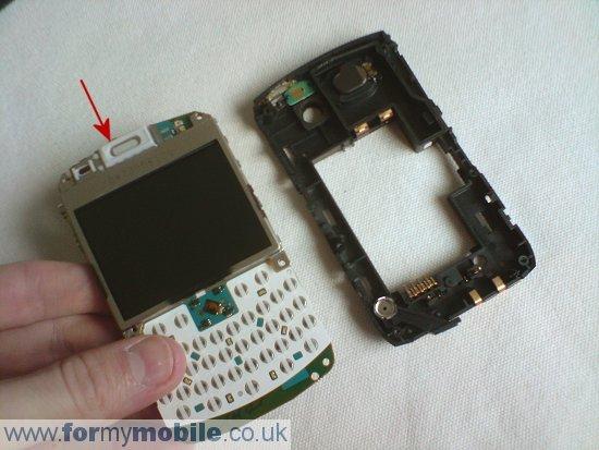 Как разобрать телефон Как разобрать телефон BlackBerry Curve 8310 (3)
