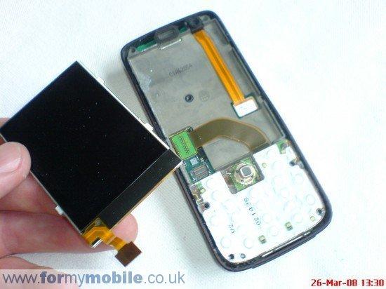 Как разобрать телефон Nokia N73
