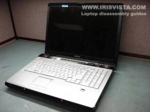 Как разобрать ноутбук Toshiba Satellite X205 и Satellite X200