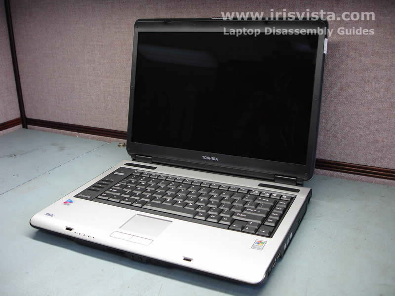 Как разобрать ноутбук Toshiba Satellite A105 (1)