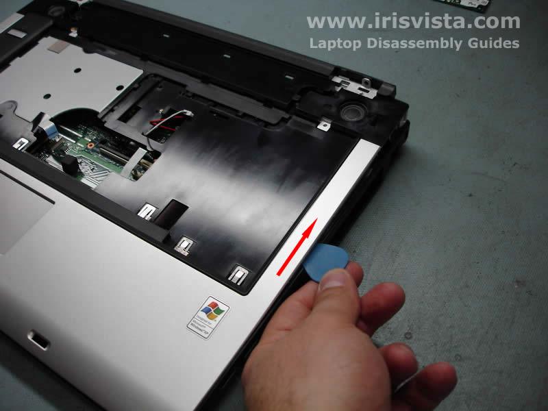 Как разобрать ноутбук Toshiba Satellite A105 (19)