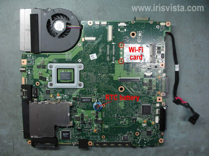 Как разобрать ноутбук Toshiba Satellite A305 A305d или