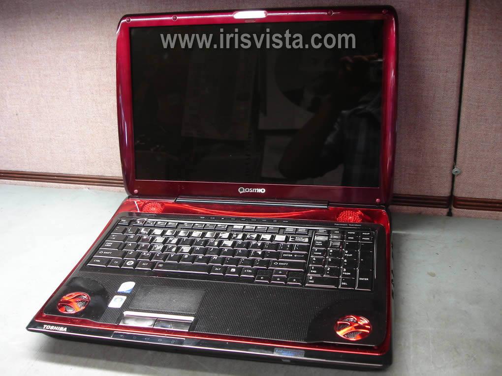 Как разобрать ноутбук Toshiba Qosmio X305 или Qosmio X300 и снять материнскую плату