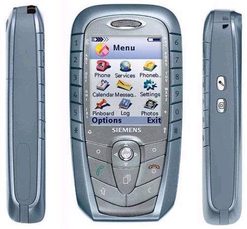 Как разобрать телефон Siemens SX1 (1)