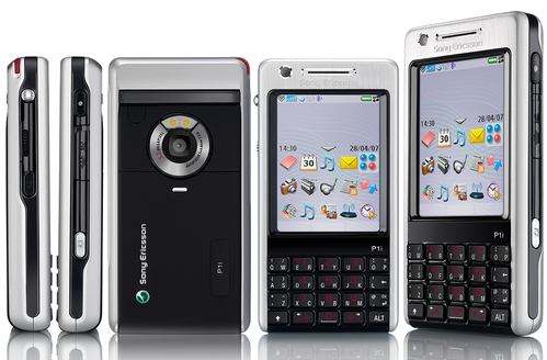 Как разобрать телефон Sony Ericsson P1i (1)