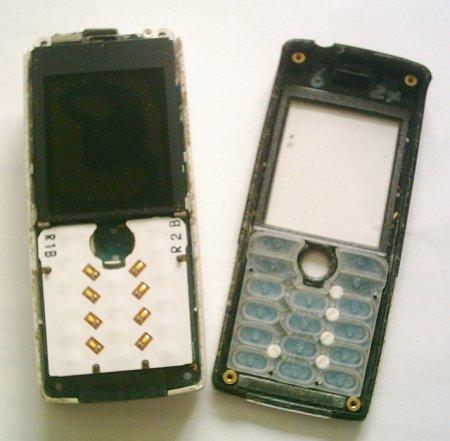 Как разобрать телефон Sony Ericsson T610 (5)
