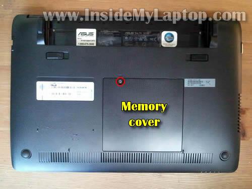 Как разобрать ноутбук Asus Eee PC 1215B (2)
