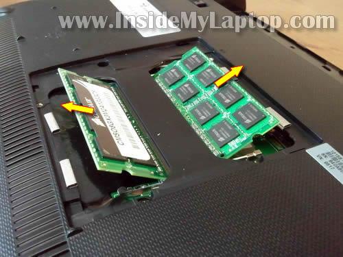 Как разобрать ноутбук Asus Eee PC 1215B (3)