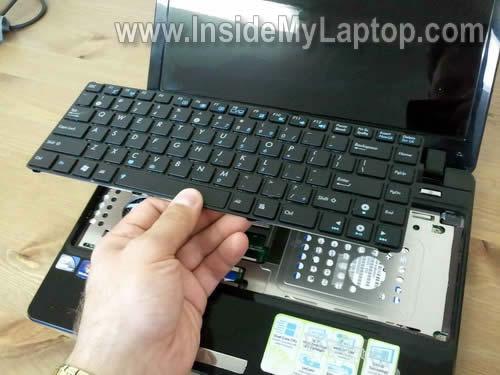 Как разобрать ноутбук Asus Eee PC 1201n (9)