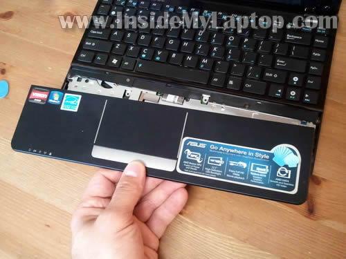 Как разобрать ноутбук Asus Eee PC 1215B (10)