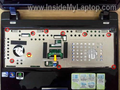 Как разобрать ноутбук Asus Eee PC 1201n (12)