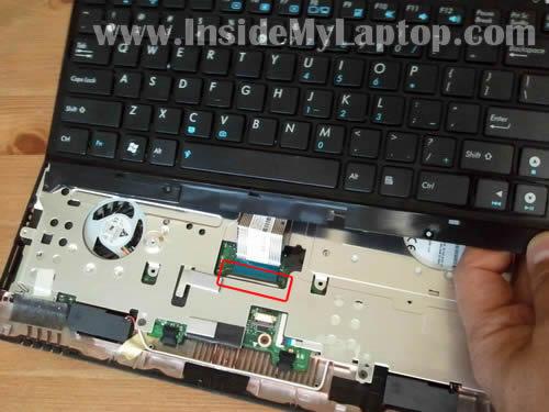 Как разобрать ноутбук Asus Eee PC 1215B (13)