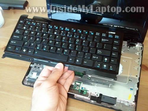 Как разобрать ноутбук Asus Eee PC 1215B (16)