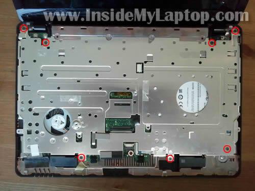 Как разобрать ноутбук Asus Eee PC 1215B (17)