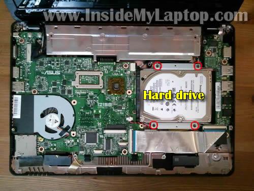 Как разобрать ноутбук Asus Eee PC 1215B (19)