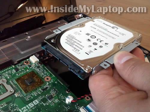 Как разобрать ноутбук Asus Eee PC 1215B (20)