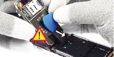 Как разобрать телефон Nokia 6111 (14)