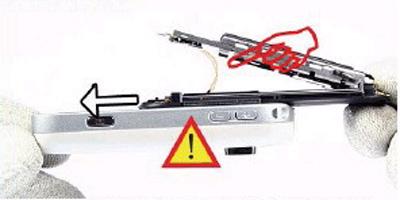 Как разобрать телефон Nokia 6111 (17)