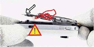 Как разобрать телефон Nokia 6111 (18)