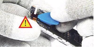 Как разобрать телефон Nokia 6111 (21)