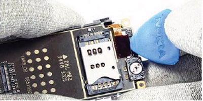 Как разобрать телефон Nokia 6111 (22)
