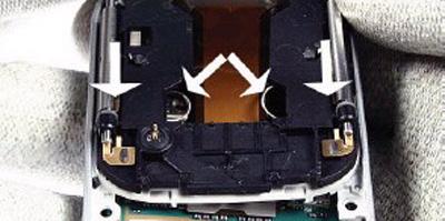 Как разобрать телефон Nokia 6111 (34)